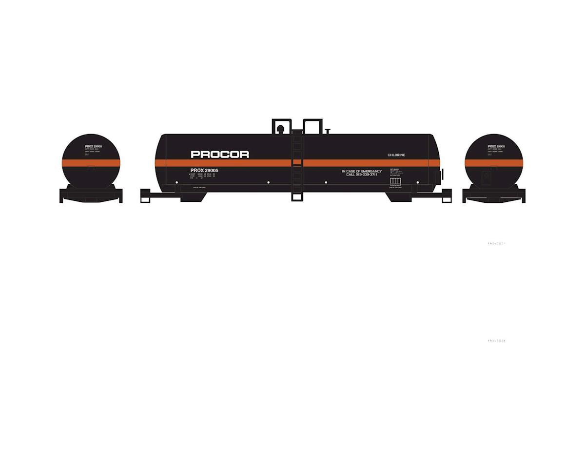 Athearn N RTC 20,900-Gallon Tank, Procor #29005