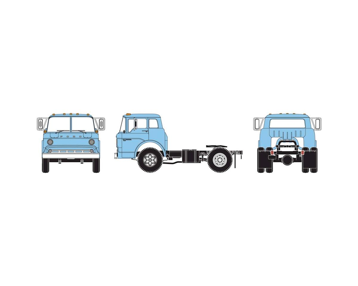 Athearn HO RTR Ford C Tractor, Powder Blue