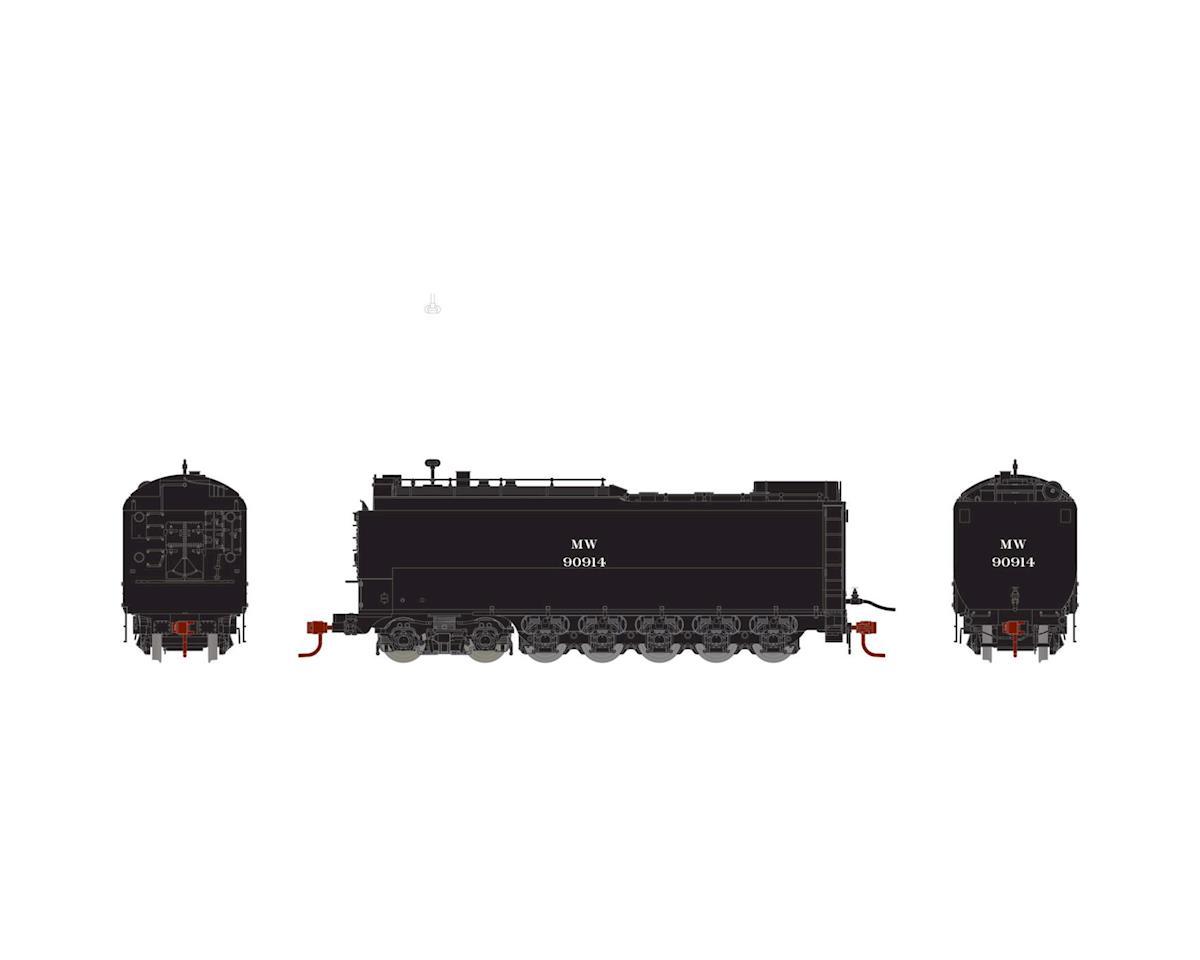 Athearn HO Service Tender, MOW/Black #90914