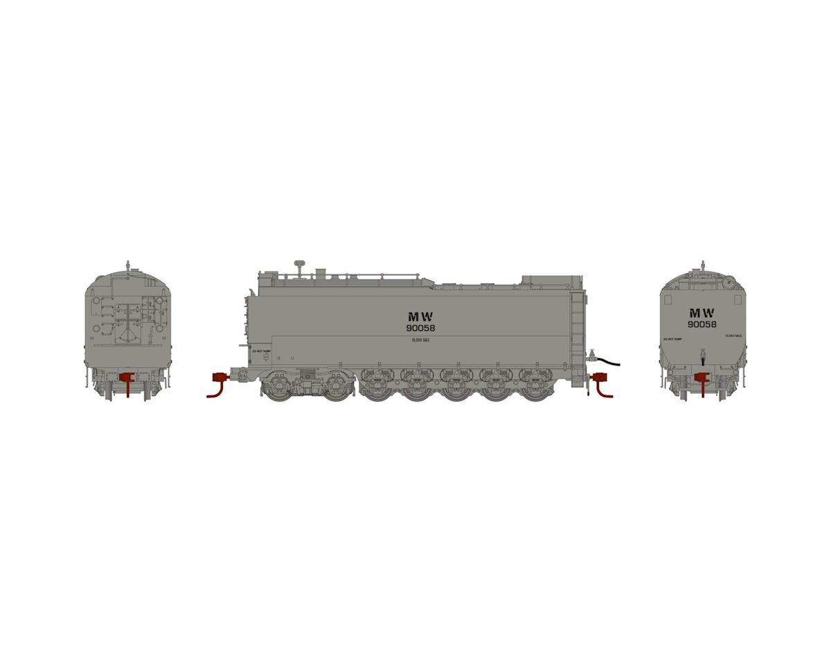 Athearn HO Service Tender, MOW/Grey #90058