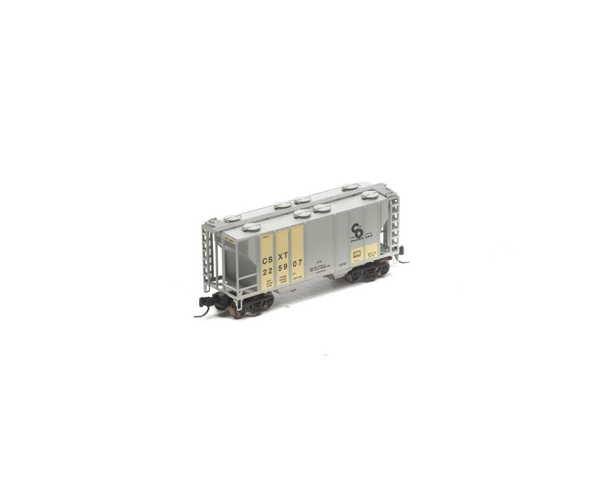 Athearn N PS-2 2600 Covered Hopper, Ex-C&O/CSX #225907