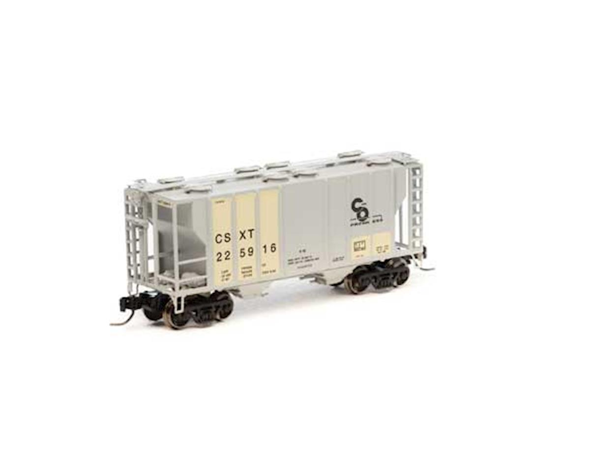 Athearn N PS-2 2600 Covered Hopper, Ex-C&O/CSX #225916