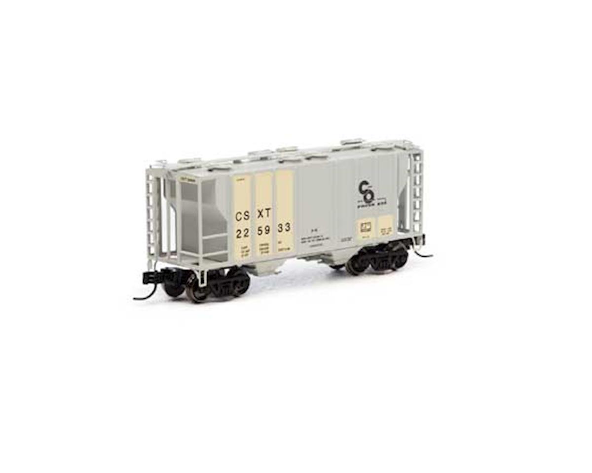 Athearn N PS-2 2600 Covered Hopper, Ex-C&O/CSX #225933