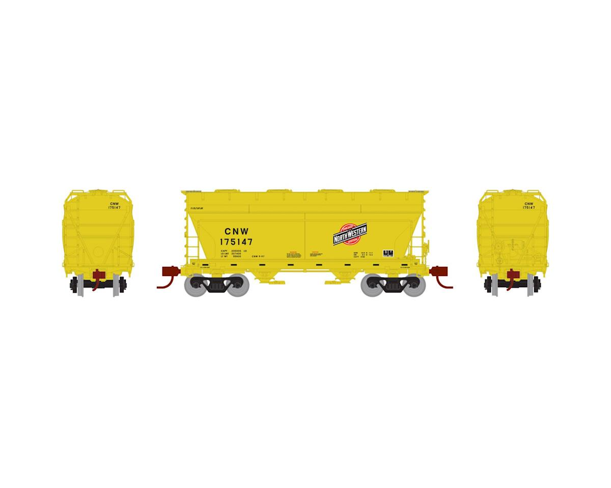 Athearn N ACF 2970 Covered Hopper, C&NW #175147