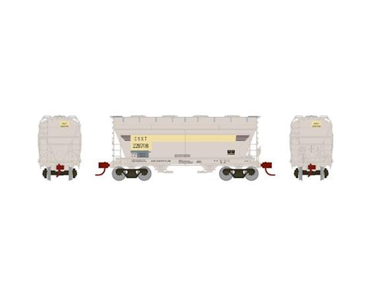 Athearn N ACF 2970 Covered Hopper, CSX #228708