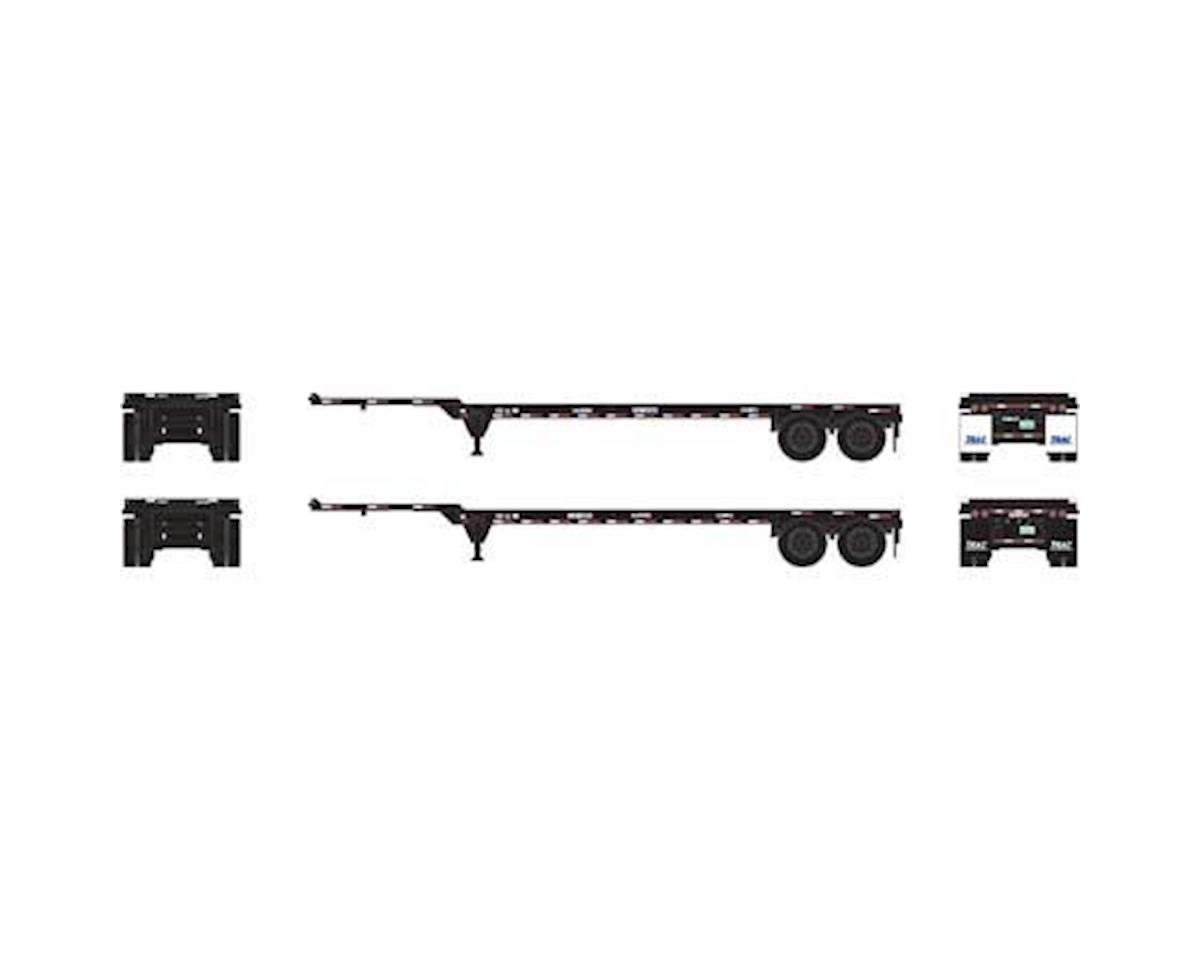 Athearn HO RTR 40' Chassis, TRAC Intermodal (2)