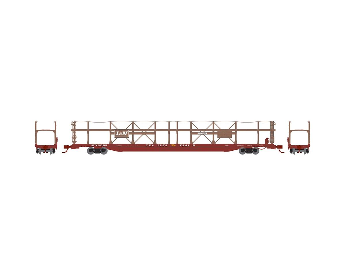 Athearn N F89-F Bi-Level Auto Rack, L&N/BTTX #913867