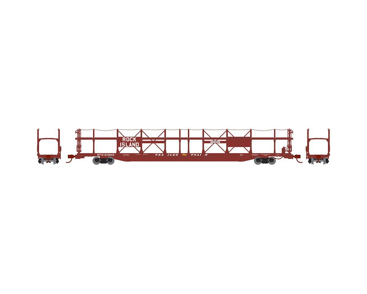 Athearn N F89-F Bi-Level Auto Rack, RI/BTTX #912842