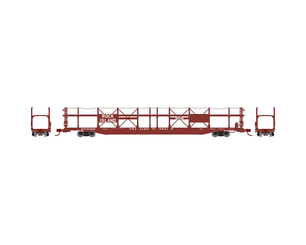 Athearn N F89-F Bi-Level Auto Rack, RI/BTTX #912936