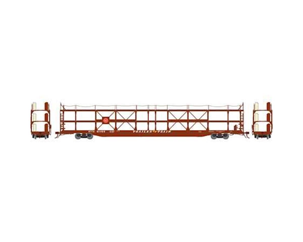 Athearn N F89-F Tri-Level Auto Rack, MP/T&P #911459