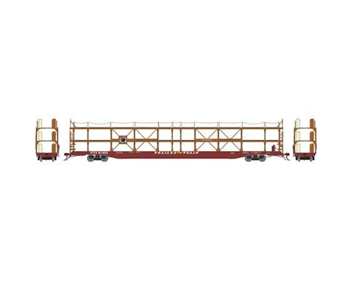 Athearn N F89-F Tri-Level Auto Rack, NP/RTTX #911856