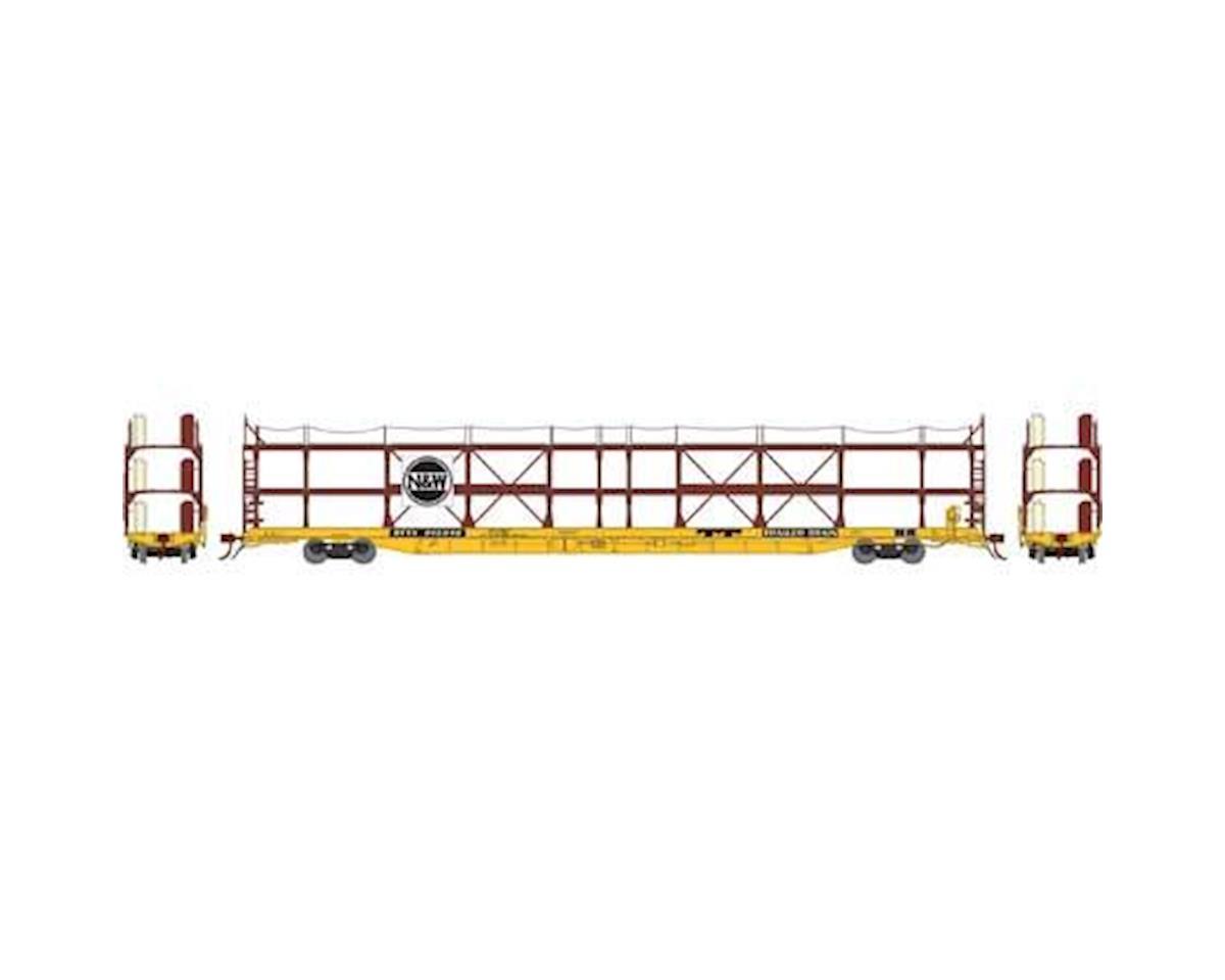 Athearn N F89-F Tri-Level Auto Rack, N&W/RTTX #913049
