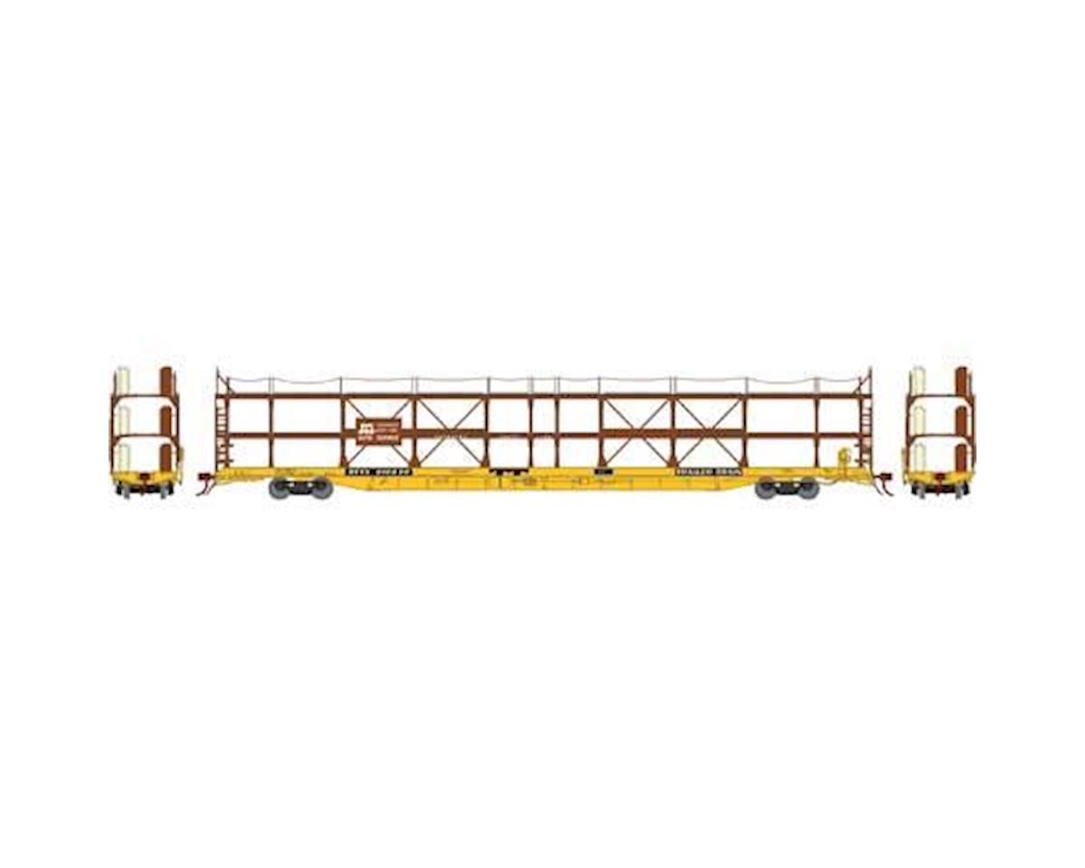 Athearn N F89-F Tri-Level Auto Rack, SCL/RTTX #910636