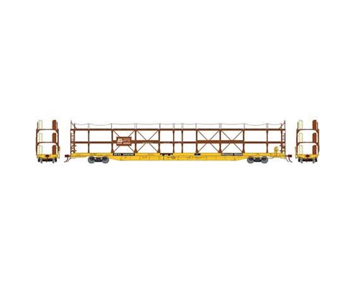 Athearn N F89-F Tri-Level Auto Rack, SCL/RTTX #910655