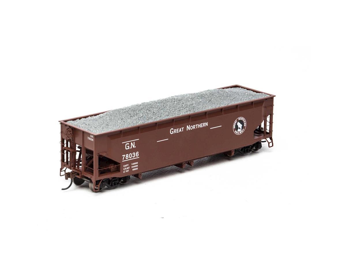 Athearn HO RTR 40' Offset Ballast Hopper w/Load, GN #78036