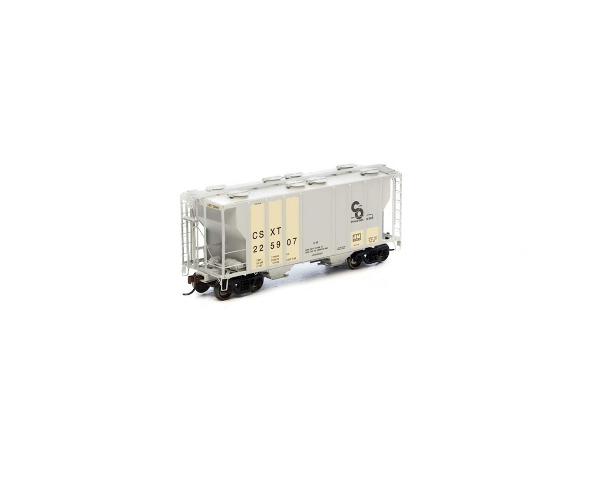 Athearn HO RTR PS-2 2600 Covered Hopper,Ex-C&O/CSX #225907