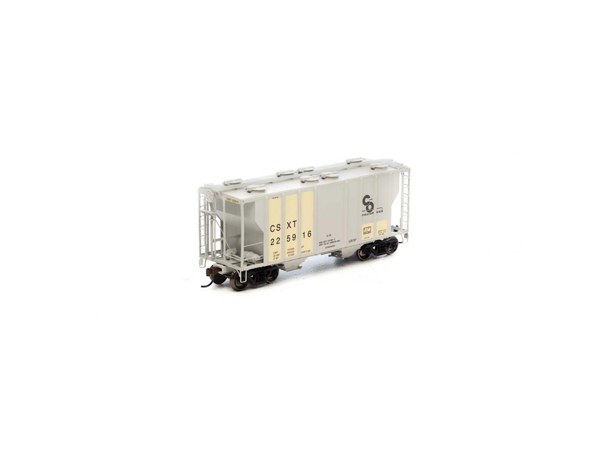 Athearn HO RTR PS-2 2600 Covered Hopper,Ex-C&O/CSX #225916
