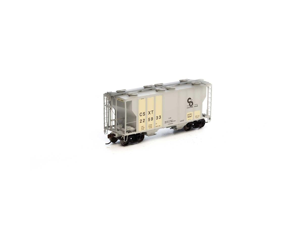 HO RTR PS-2 2600 Covered Hopper,Ex-C&O/CSX #225933 by Athearn