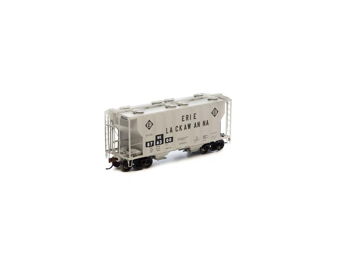 Athearn HO RTR PS-2 2600 Covered Hopper, W&LE #876300