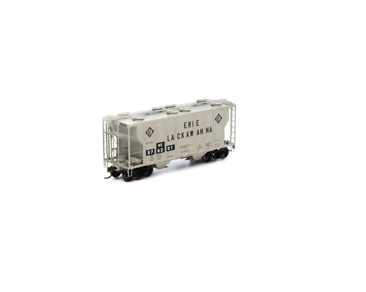 Athearn HO RTR PS-2 2600 Covered Hopper, W&LE #876301