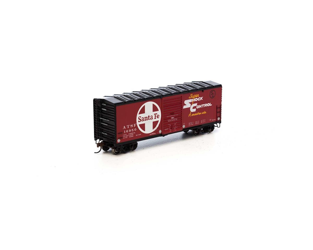 HO RTR 40' Modern Box, SF #16950 by Athearn