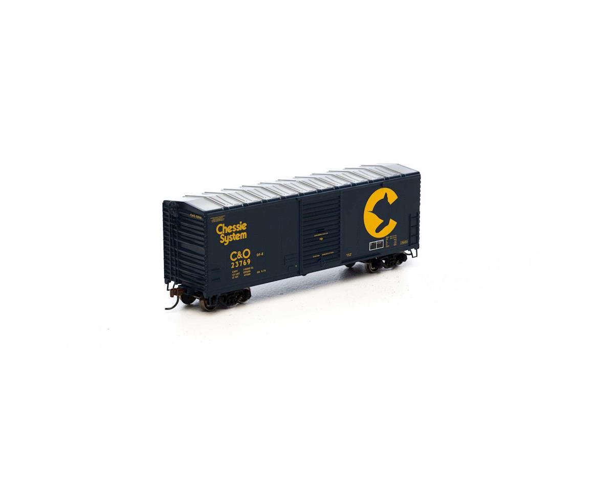 Athearn HO RTR 40' Modern Box, Chessie #23769