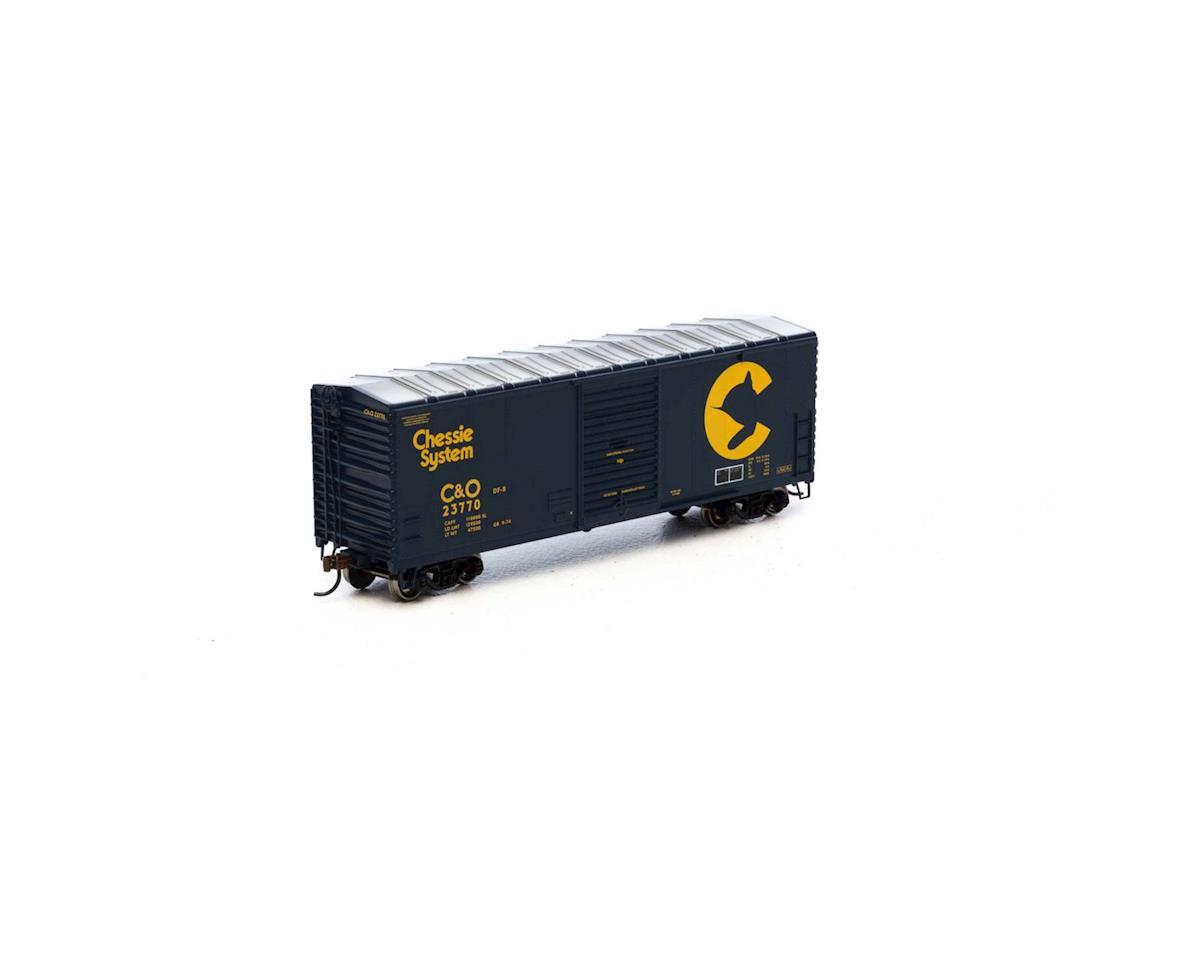 Athearn HO RTR 40' Modern Box, Chessie #23770