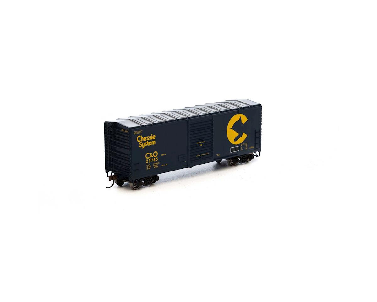 Athearn HO RTR 40' Modern Box, Chessie #23785