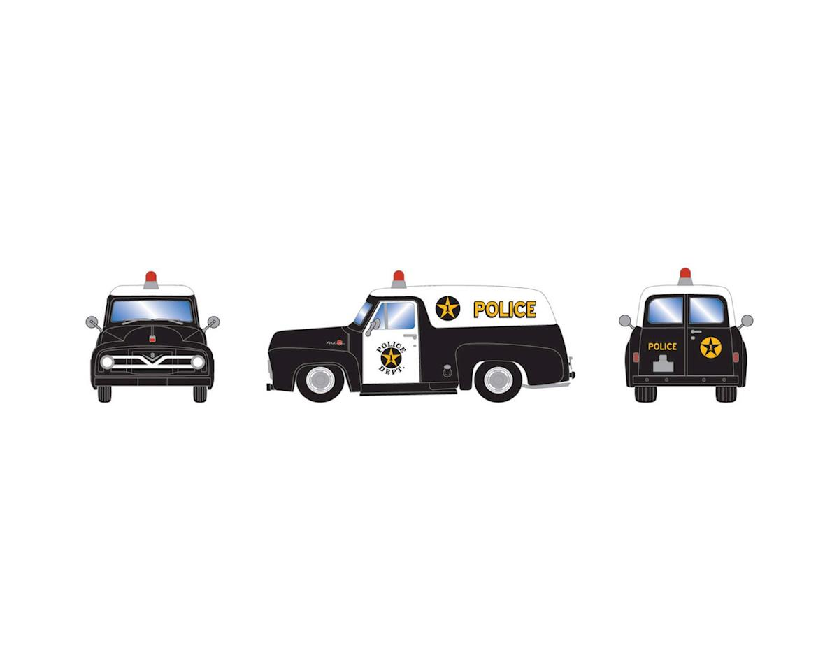 Athearn HO RTR 1955 F-100 Panel Truck, Police Department