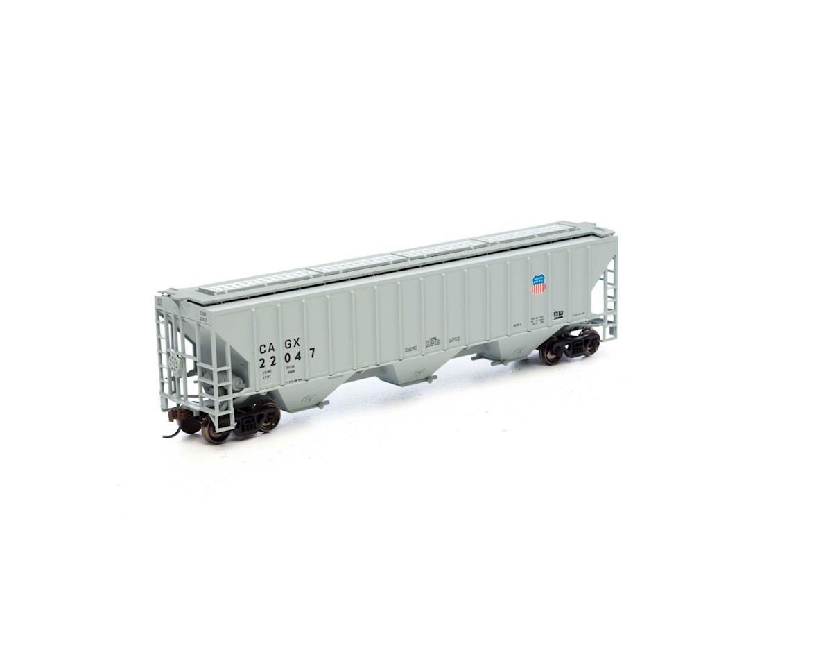 Athearn HO RTR PS 4740 Covered Hopper, CAGX/UP  #22047