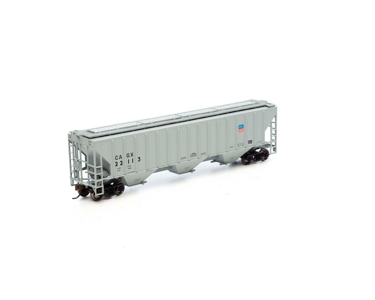 Athearn HO RTR PS 4740 Covered Hopper, CAGX/UP  #22113