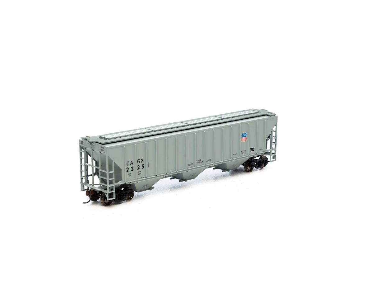 Athearn HO RTR PS 4740 Covered Hopper, CAGX/UP  #22251