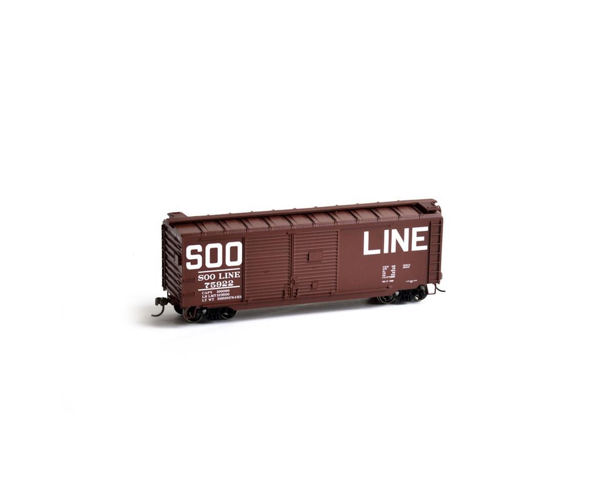 Athearn HO RTR 40' Double Door Box, SOO #75922