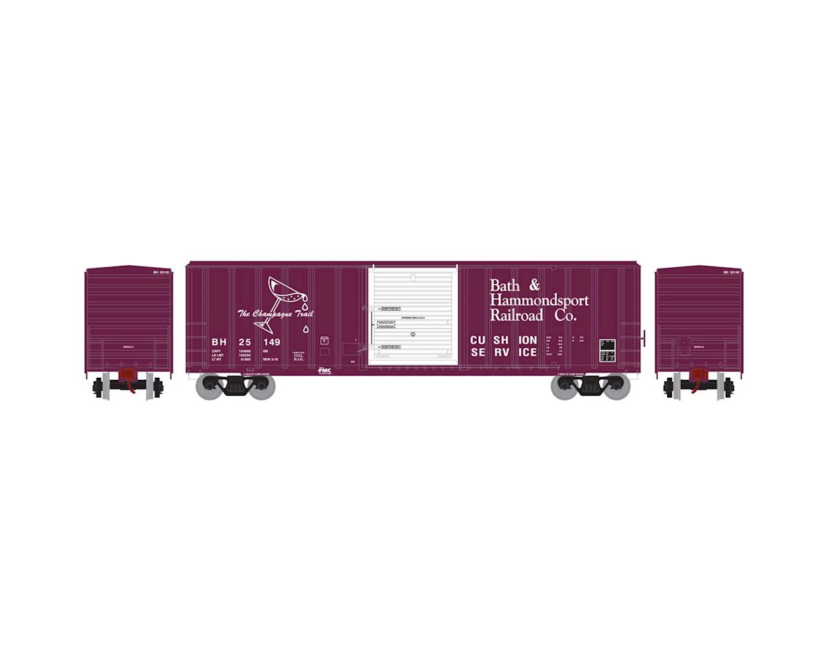 HO RTR 50' FMC 5347 Box, B&H #25149 by Athearn