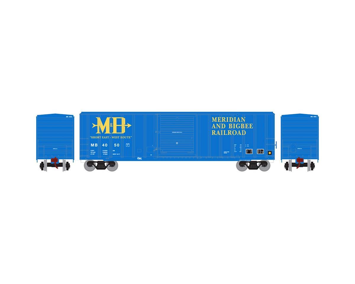 Athearn HO RTR 50' FMC 5347 Box, M&B #4050
