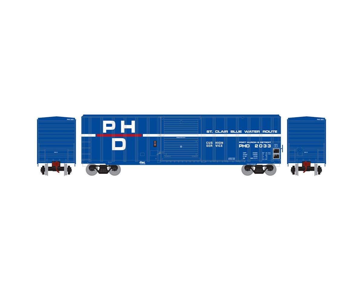 Athearn HO RTR 50' FMC 5347 Box, PH&D #2033