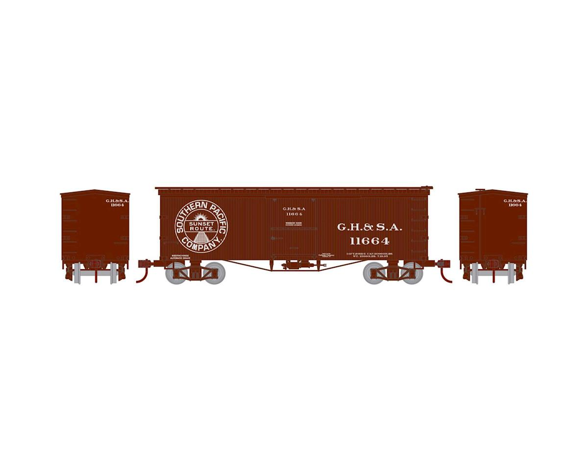 Athearn N 36' Old Time Wood Box, GH&SA #11664