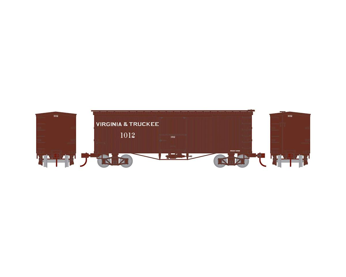 Athearn N 36' Old Time Wood Box, V&T #1012