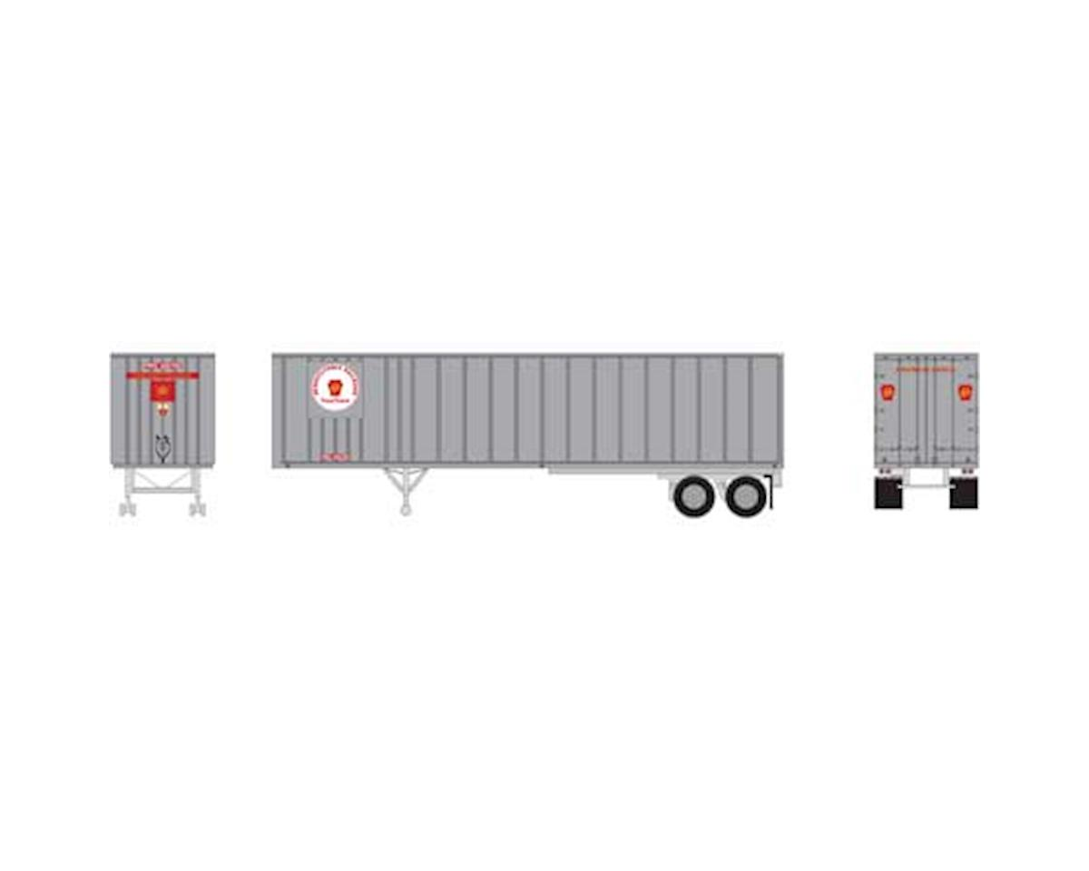 Athearn N 40' Exterior Post Trailer, PRR #202795