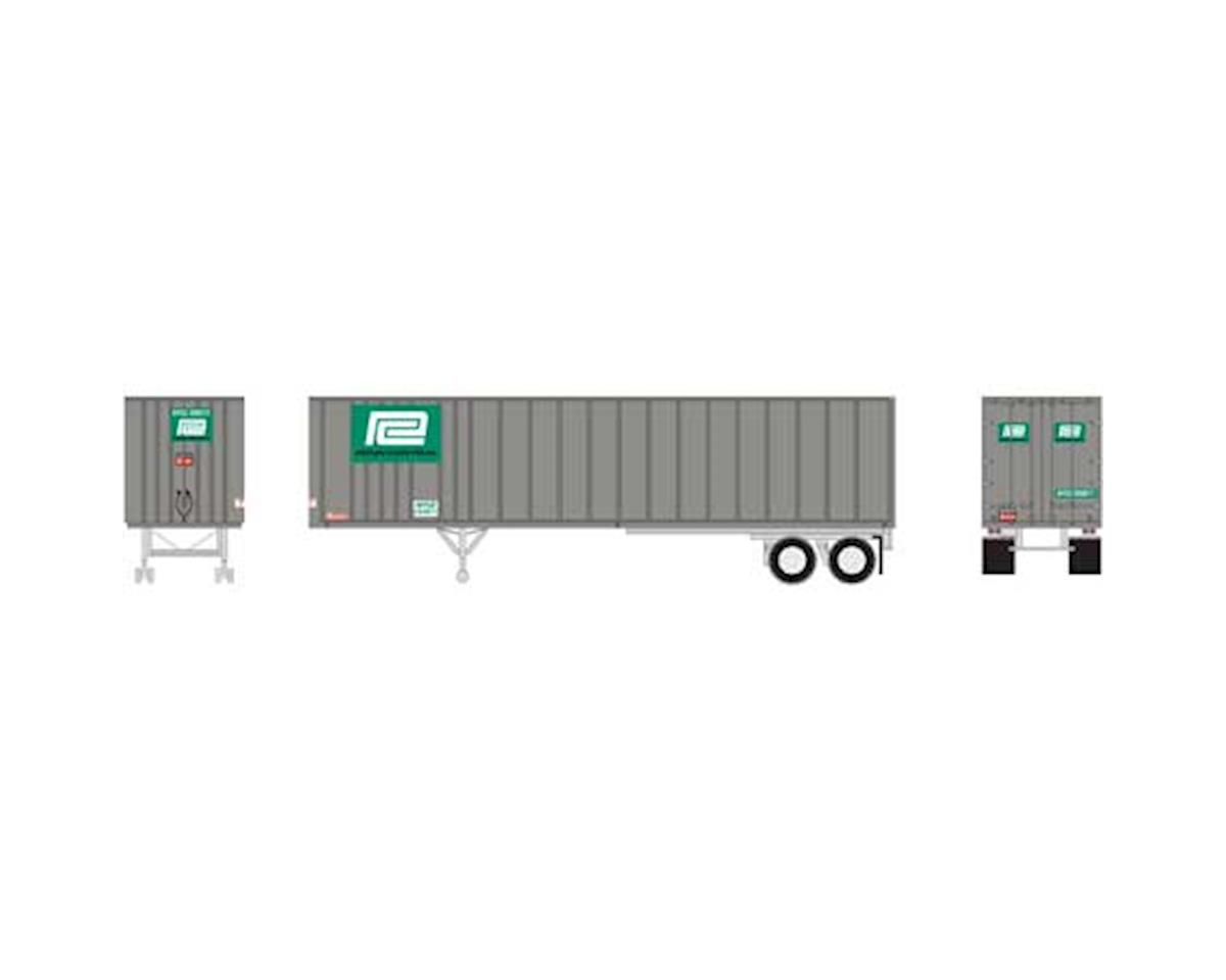Athearn N 40' Exterior Post Trailer, PC # 292017