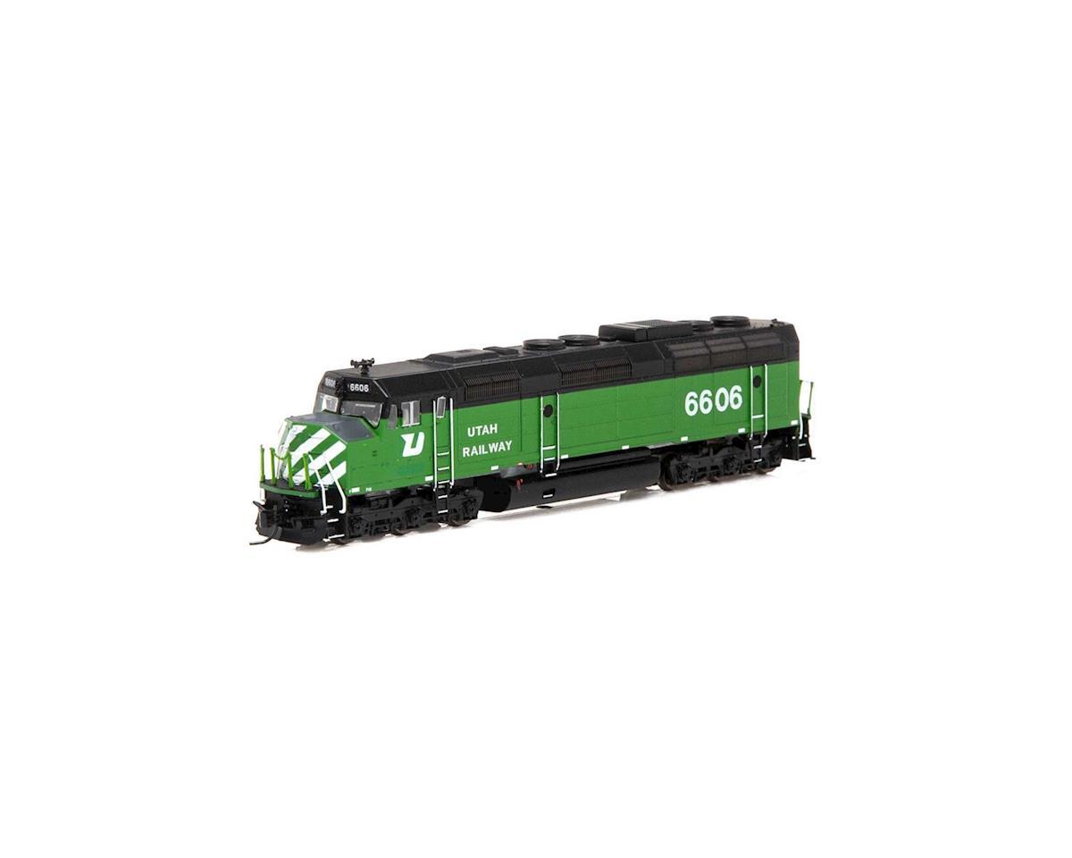 N F45 w/DCC & Sound, Utah Railway #6606 by Athearn