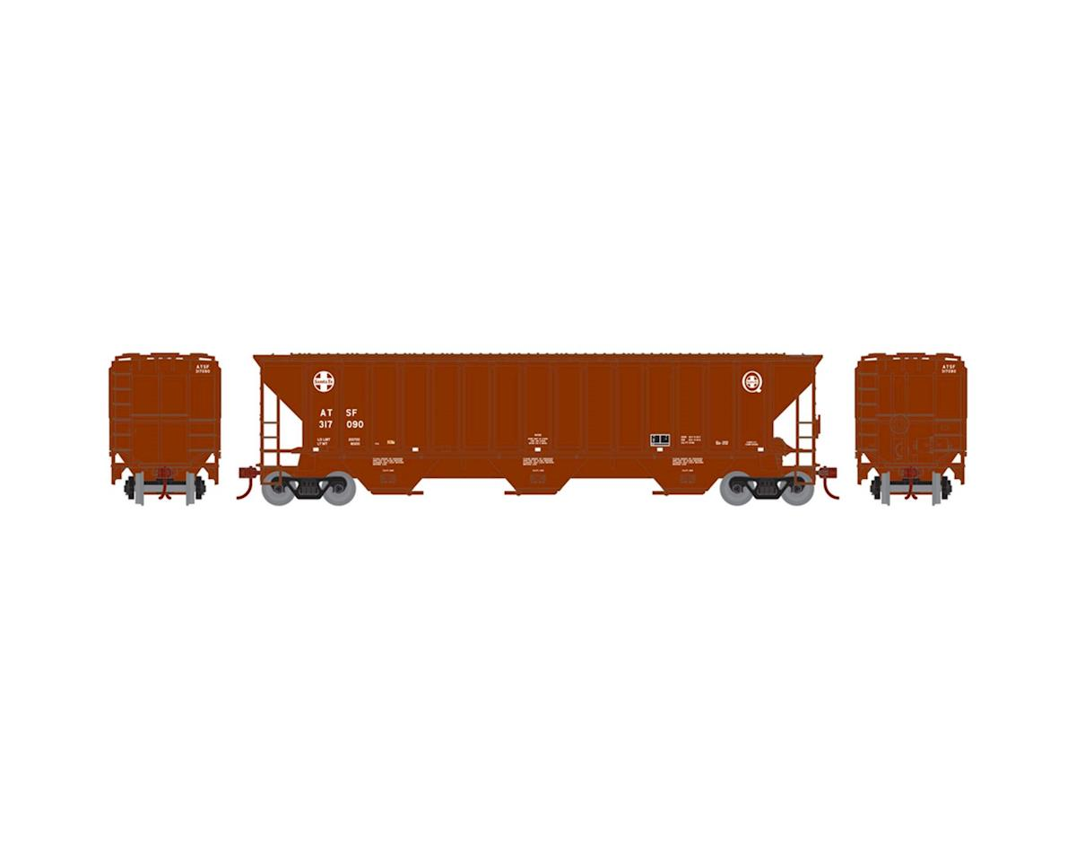 Athearn HO RTR PS 4740 Covered Hopper, SF #317090