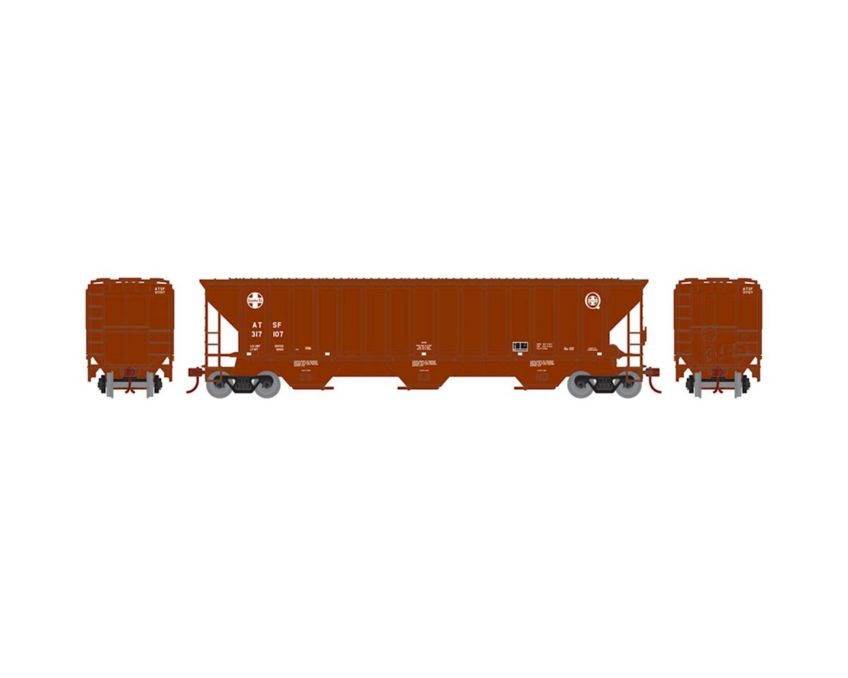 Athearn HO RTR PS 4740 Covered Hopper, SF #317107