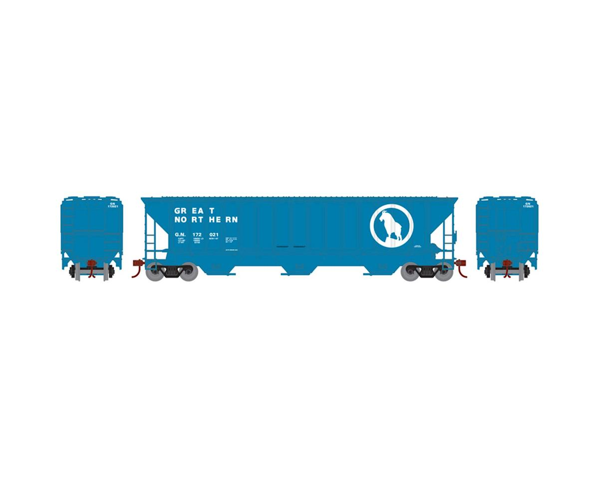 Athearn HO RTR PS 4740 Covered Hopper, GN #172021