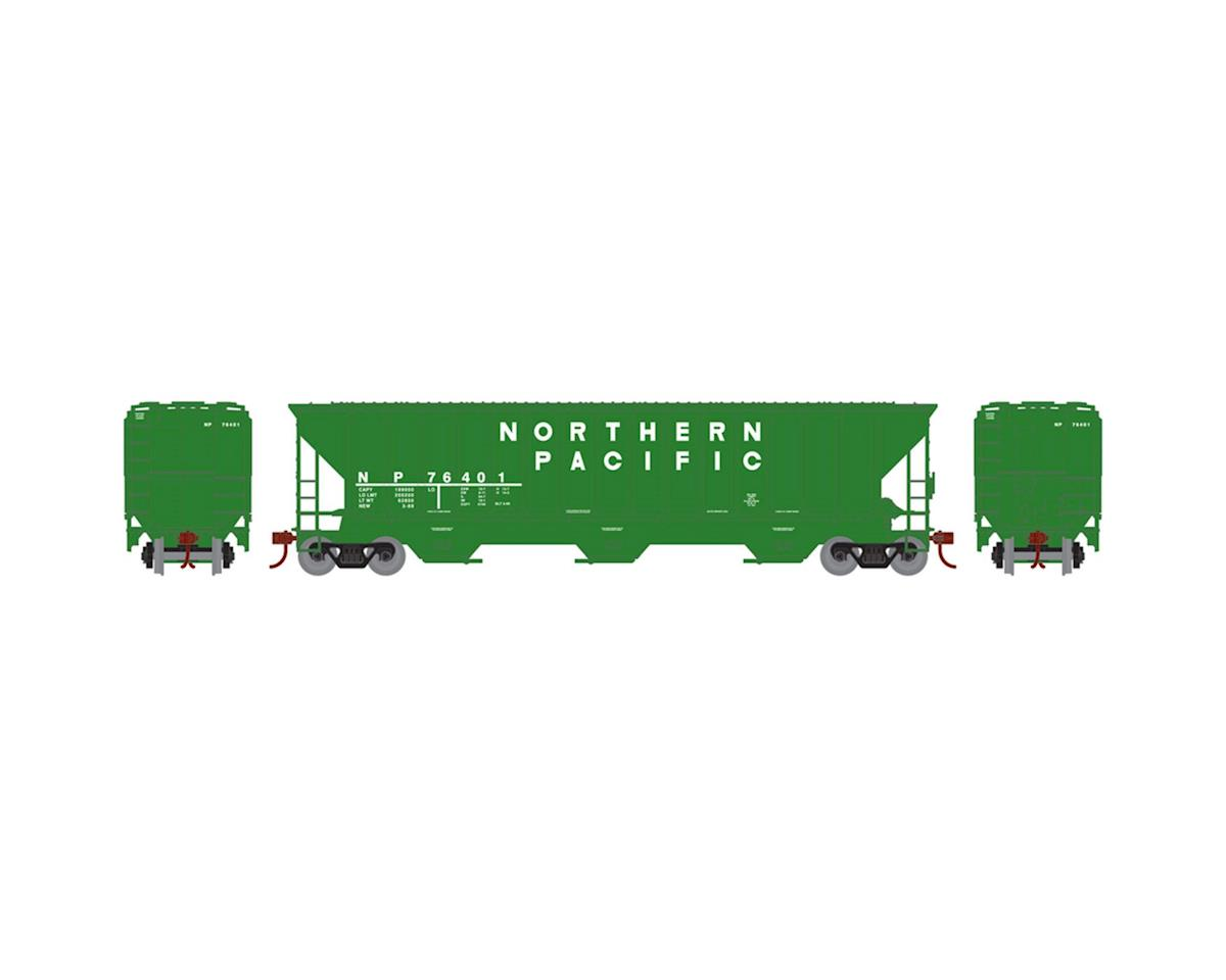 HO RTR PS 4740 Covered Hopper, NP #76401 by Athearn
