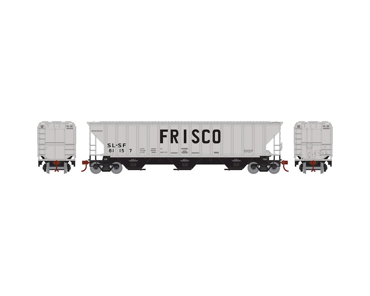 Athearn HO RTR PS 4740 Covered Hopper, Frisco #81157