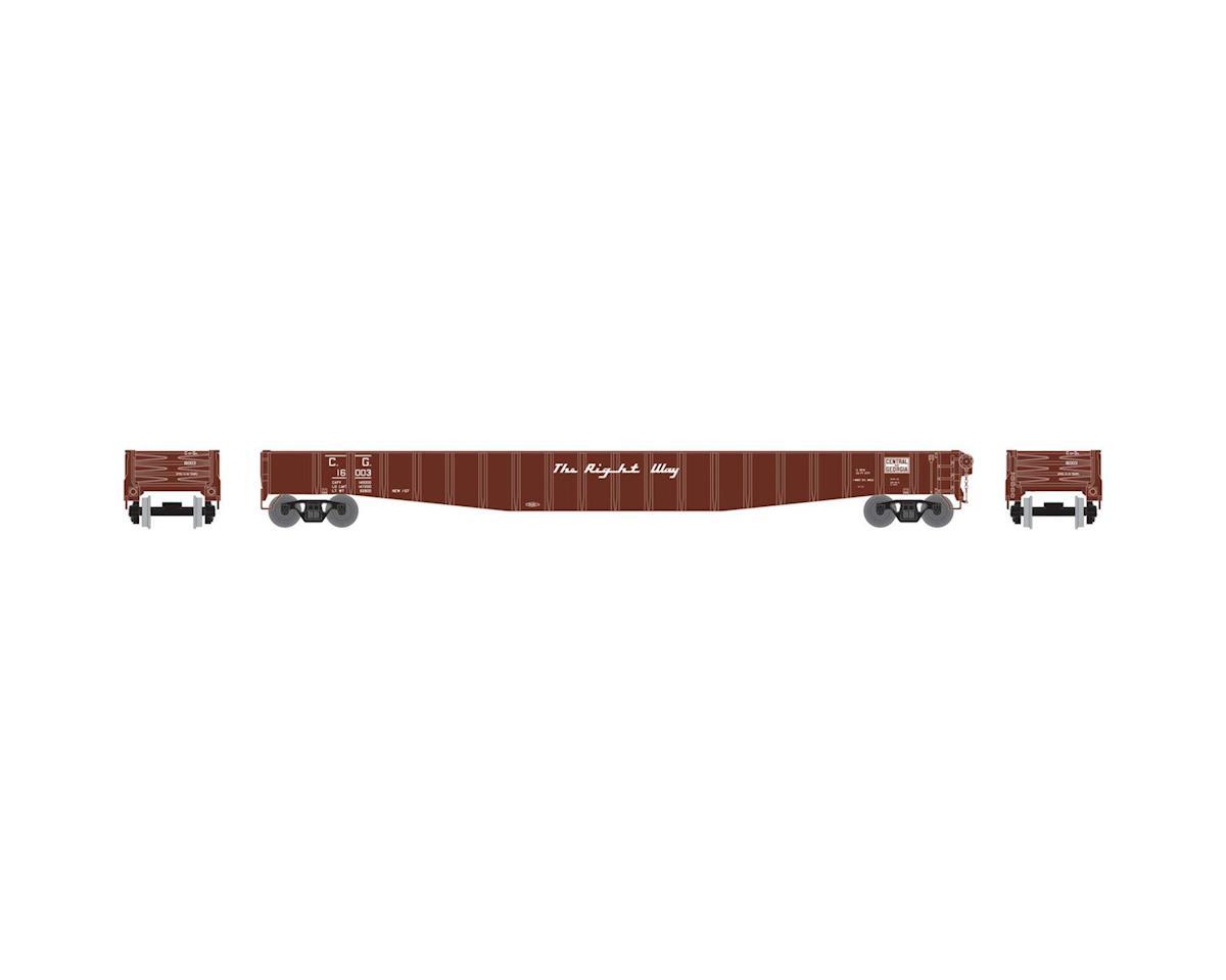 "Athearn HO RTR 65'6"" Mill Gondola, CofG #16003"