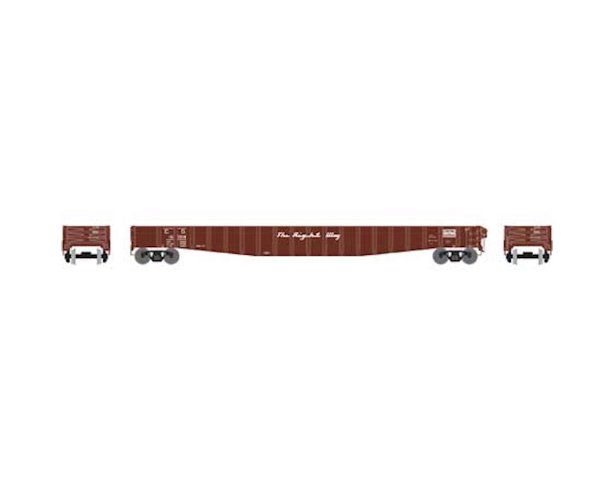 "Athearn HO RTR 65'6"" Mill Gondola, CofG #16004"