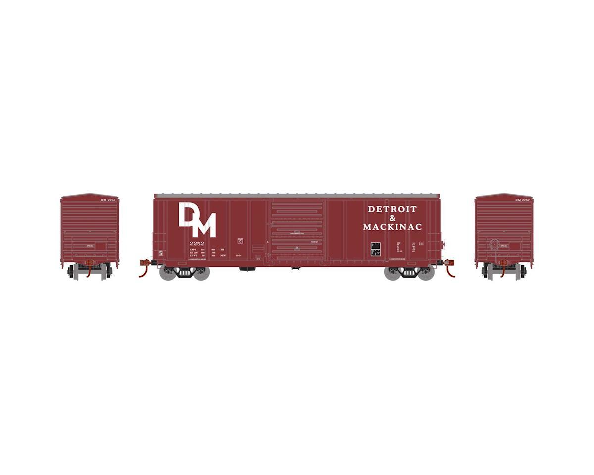 Athearn HO RTR 50' PS 5277 Box, D&M #2252