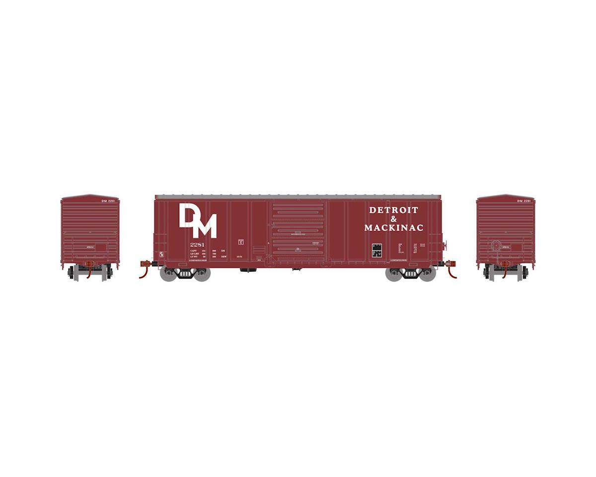 Athearn HO RTR 50' PS 5277 Box, D&M #2281